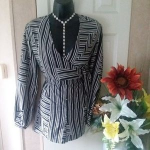 NWT Gorgeous Wrap Front Summer Romper